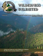 Wilderness Unlimited California Hunting &Fishing Club Sample Magazine