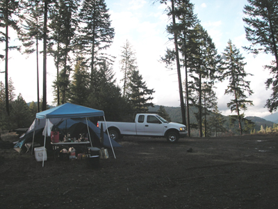 Camping at Brown Creek