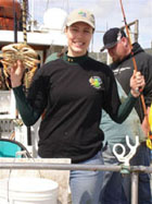 Jenna Copeland's dungeness crab pull
