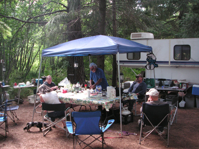 Great camping at Lake Margaret