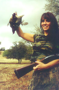Quail success pleases huntress